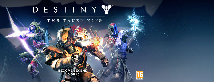 Destiny The Taken King for Xbox 360 - Preorder Now at GAME.co.uk!