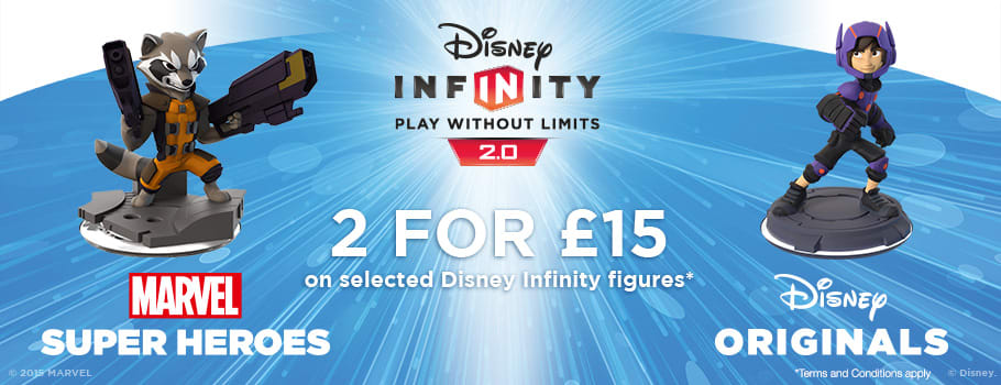 Disney Infinity 2 for £15 on characters - Buy Now at GAME.co.uk!