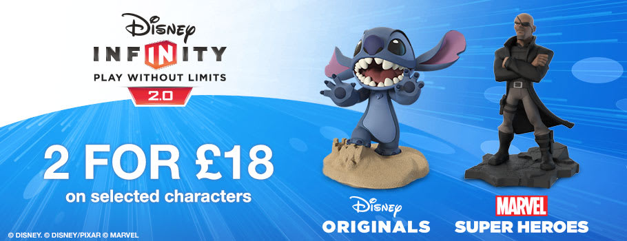 New Disney Infinity Characters for Nintendo Wii U - Buy Now at GAME.co.uk!