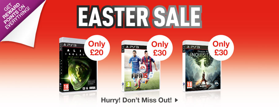 SALE for PlayStation 3 - Buy Now at GAME.co.uk!