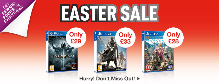 SALE for PlayStation 4 - Buy Now at GAME.co.uk!