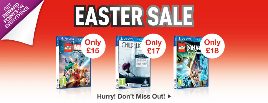 SALE for PlayStation VITA - Buy Now at GAME.co.uk!