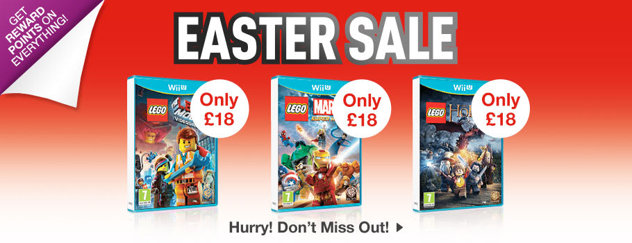 SALE for Nintendo Wii U - Buy Now at GAME.co.uk!