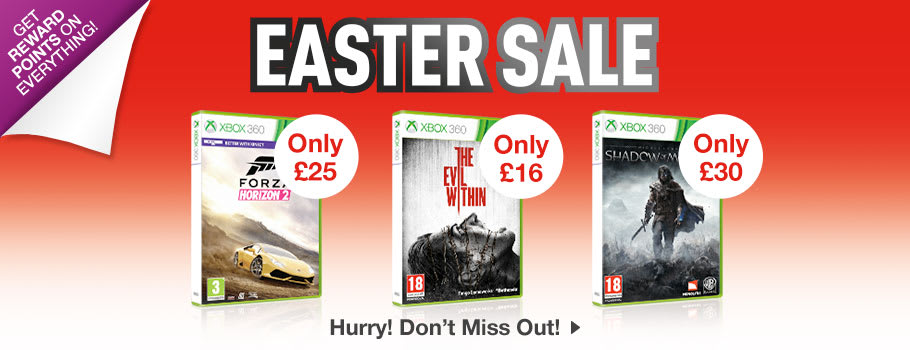 SALE for Xbox 360 - Buy Now at GAME.co.uk!
