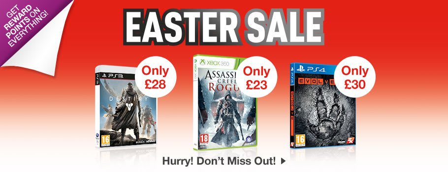Easter SALE 2 - Buy Now at GAME.co.uk!