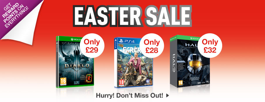 Easter SALE - Buy Now at GAME.co.uk!