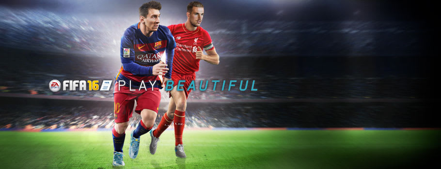 FIFA 16 - Preorder Now at GAME.co.uk!
