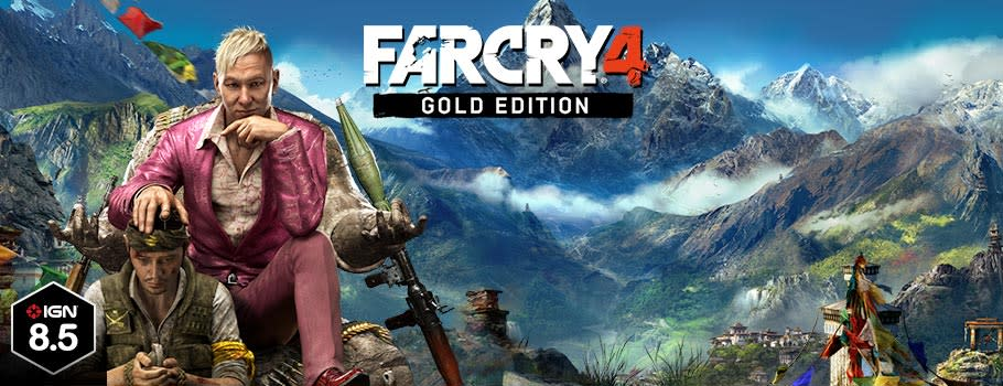 Far Cry 4 Gold Edition for PC Download - Download Now at GAME.co.uk!