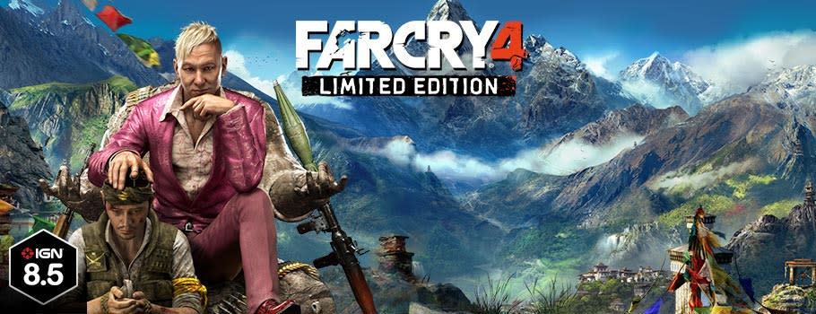 Far Cry 4 - Preorder Now at GAME.co.uk!