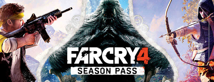 Far Cry 4 Season Pass for PlayStation Network - Download Now at GAME.co.uk!