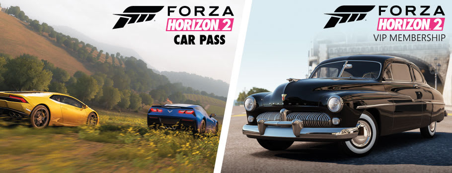 Forza Horizon 2 Car Pass and VIP Pass for Xbox Live - Download Now at GAME.co.uk!