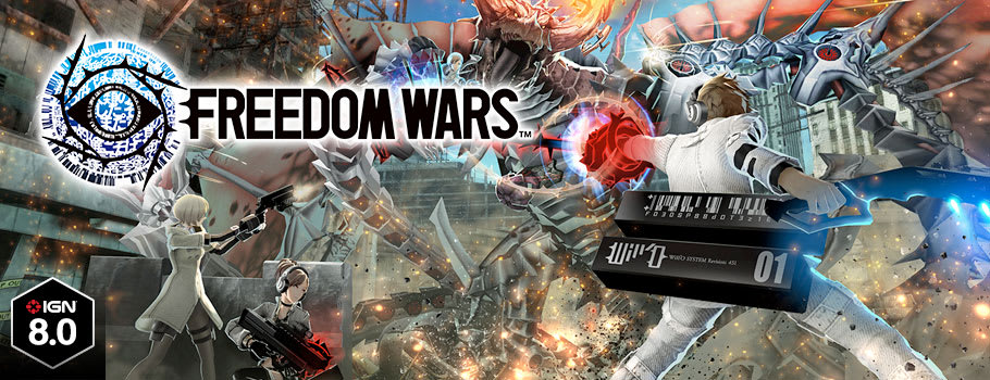 Freedom Wars for PlayStation VITA - Buy Now at GAME.co.uk!