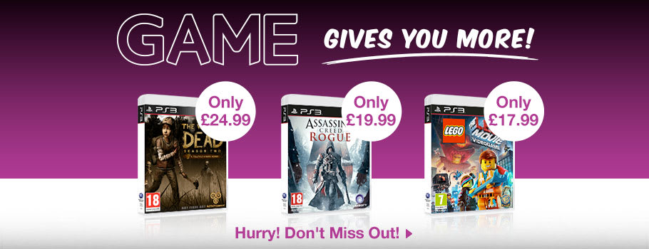 Deals for PlayStation 3 - Buy Now at GAME.co.uk!