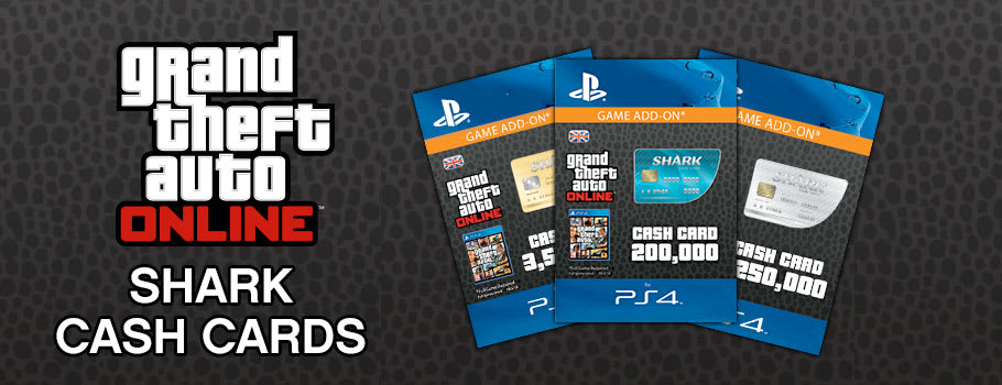 Grand Theft Auto Online Shark Cards for PlayStation Network - Download Now at GAME.co.uk!