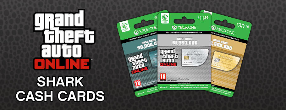 Grand Theft Auto Online Shark Cards for Xbox Live - Download Now at GAME.co.uk!