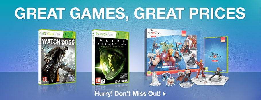 Great Games, Great Prices for Xbox 360 - Buy Now at GAME.co.uk!