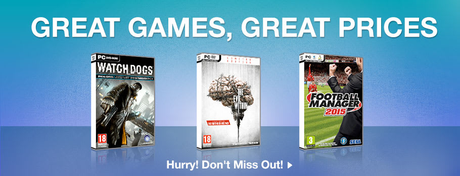 Great Games, Great Prices for PC - Buy Now at GAME.co.uk!