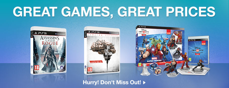 Great Games, Great Prices for PlayStation 3 - Buy Now at GAME.co.uk!