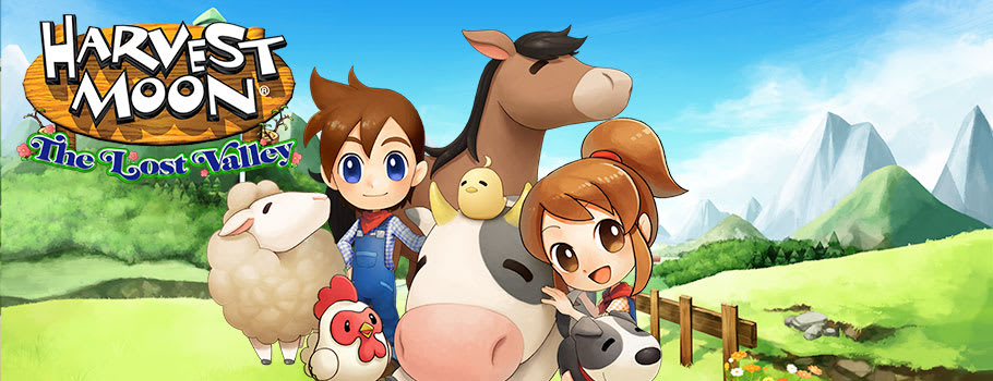 Harvest Moon: The Lost Valley for Nintendo eShop - Download Now at GAME.co.uk!
