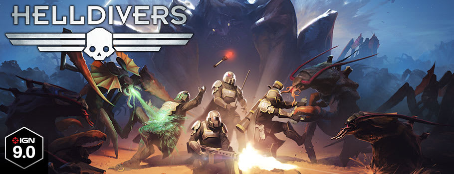 Helldivers for PlayStation Network - Download Now at GAME.co.uk!