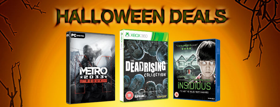 Halloween Deals - Buy Now at GAME.co.uk!