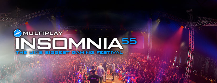 Insomnia55 Get your tickets now!