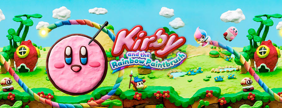 Kirby & The Rainbow Paintbrush for Nintendo Wii U - Preorder Now at GAME.co.uk!