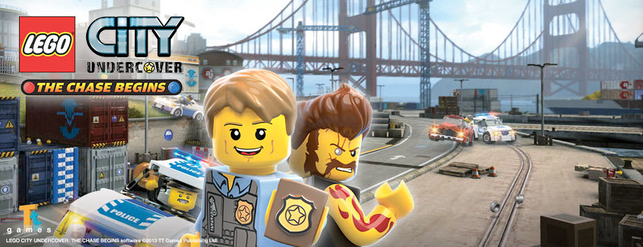 LEGO City Undercover 3DS for Nintendo eShop - Download Now at GAME.co.uk!