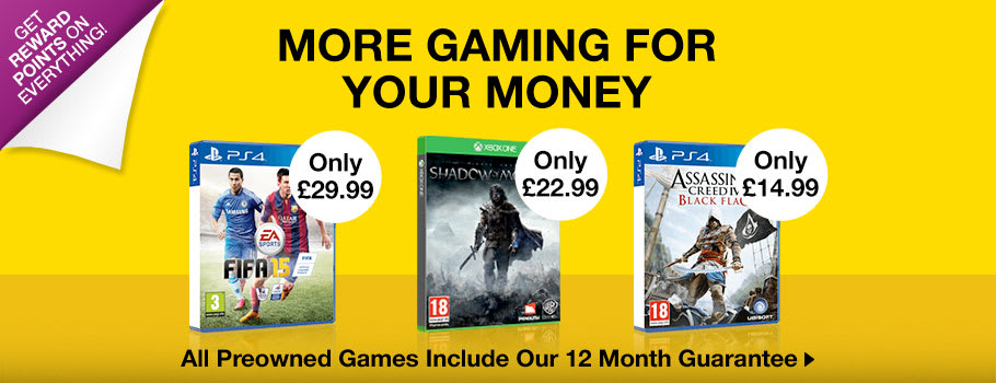 Preowned Deals - Buy Now at GAME.co.uk!