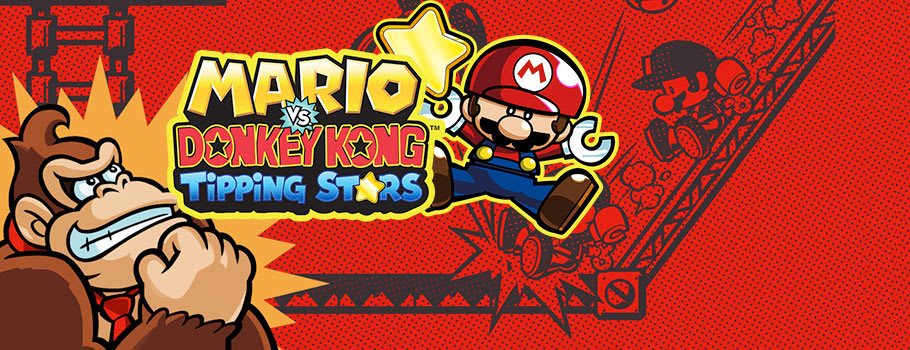 Mario vs Donkey Donkey Kong Tipping Stars for Nintendo eShop - Download Now at GAME.co.uk!