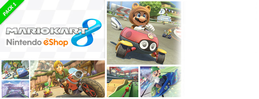 Mario Kart 8 DLC Pack 1 for Nintendo Wii U - Download Now at GAME.co.uk!