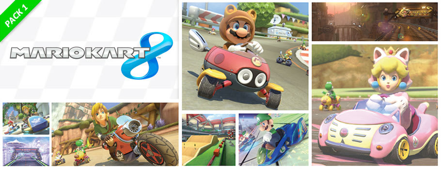 Mario Kart 8 Content Pack for Nintendo eShop - Download Now at GAME.co.uk!