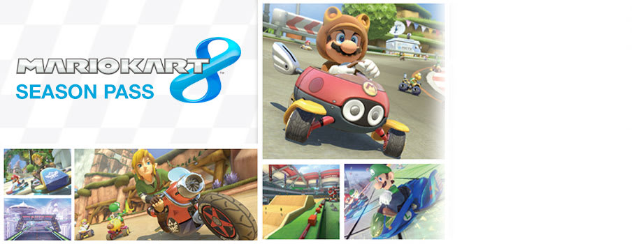 Mario Kart 8 Season Pass for Nintendo Wii U - Download Now at GAME.co.uk!