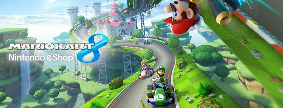 Mario Kart 8 for Nintendo eShop - Download Now at GAME.co.uk!