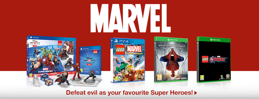 Marvel Theme Week - Buy Now at GAME.co.uk!
