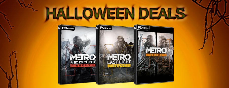 Metro Halloween Deals for PC Download - Buy Now at GAME.co.uk!