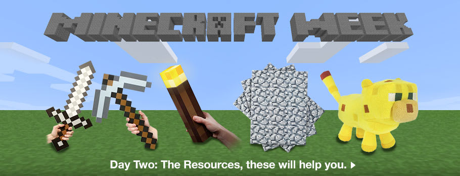 Minecraft Week - Download Now at GAME.co.uk!