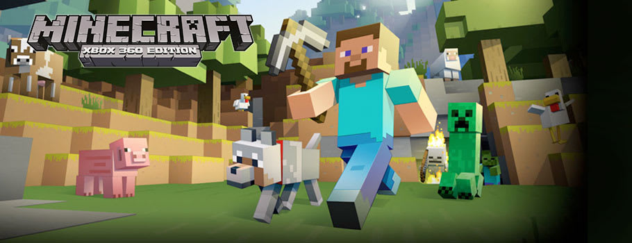 Minecraft for Xbox 360 - Buy Now at GAME.co.uk!
