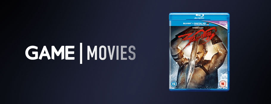 300 Rise of an Empire - Preorder on Blu-Ray and DVD Now at GAME.co.uk!