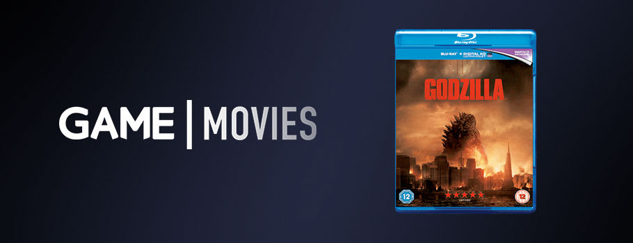 Godzilla on Blu Ray and DVD  - Preorder Now at GAME.co.uk!