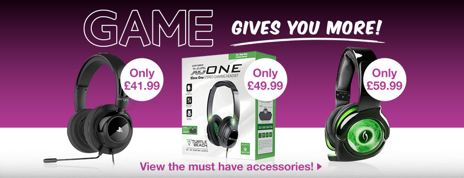 GAME Gives You More Accessories - Buy Now at GAME.co.uk!