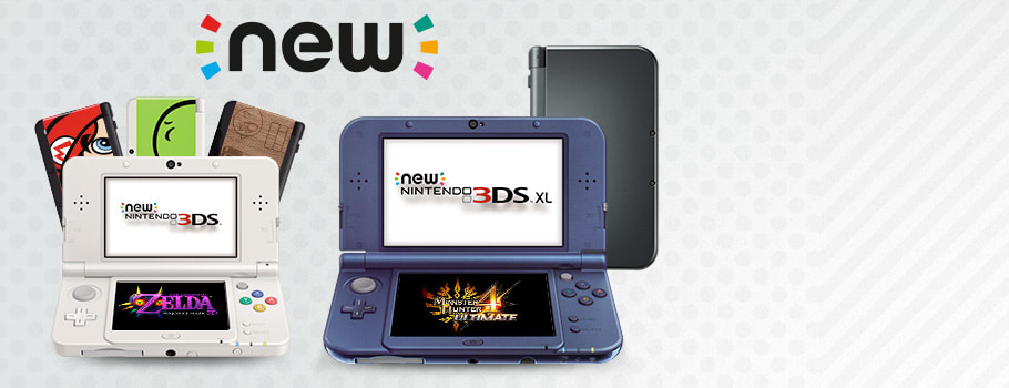 New 3DS Consoles for Nintendo 3DS - Preorder Now at GAME.co.uk!