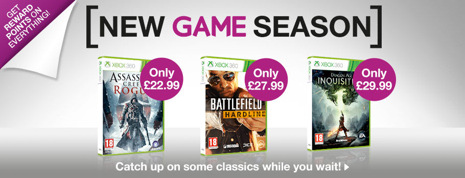 Deals for Xbox 360 - Buy Now at GAME.co.uk!