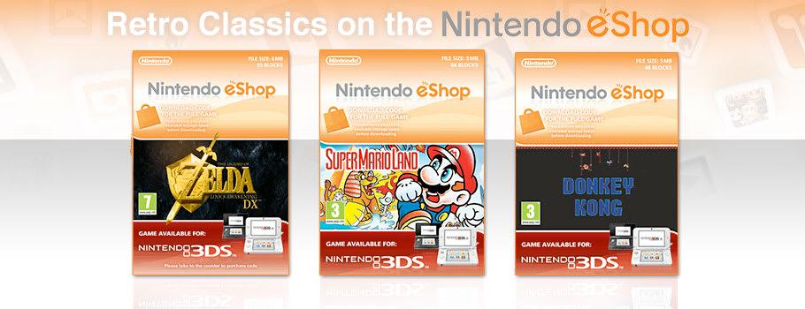 eShop Retro Classics for Nintendo eShop - Download Now at GAME.co.uk!