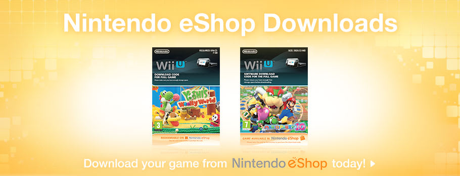 Eshop Games for Nintendo Wii U - Download Now from GAME.co.uk!