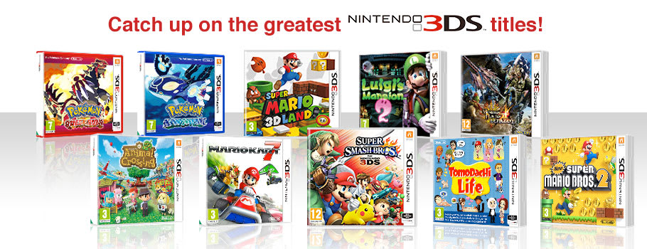 Essential Games for Nintendo 3DS - Buy Now at GAME.co.uk!