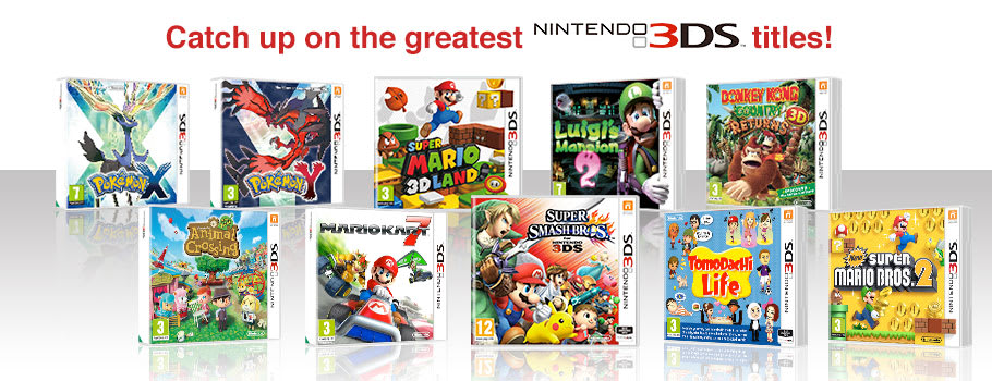 Magnificent 10 for Nintendo 3DS - Preorder Now at GAME.co.uk!