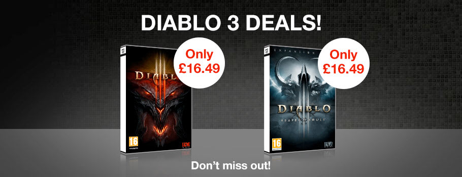 Diablo 3 Deals for PC - Buy Now at GAME.co.uk!