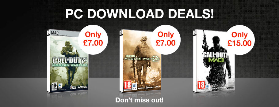 Deals for PC Download - Buy Now at GAME.co.uk!