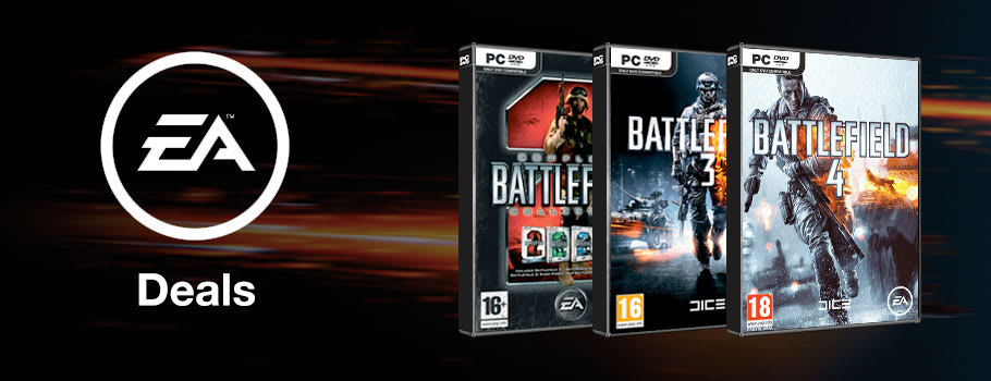 EA Deals for PC Download - Download Now at GAME.co.uk!